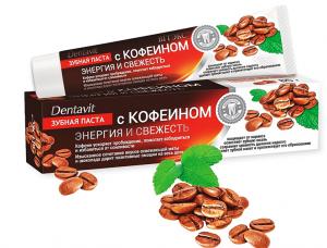 Паста за зъби с кофеин Dentavit